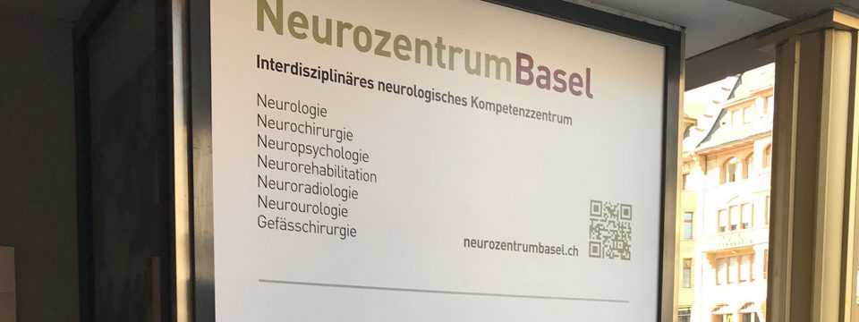 Neurozentrum Basel - Eingang