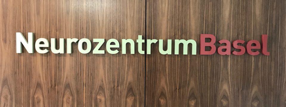 Neurozentrum Basel 2018 - Innenbeschriftung