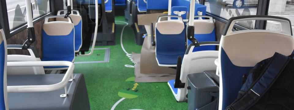 E Bus innen