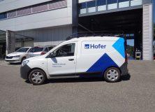 Hofer AG - Fahrzeugbeschriftung
