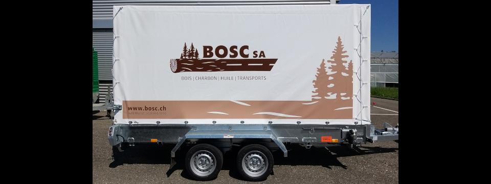 Bosc SA - Blache für Anhänger