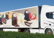 Chocolat Chocolat Ammann - Beschriftung Auflieger