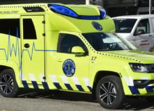 Beschriftung Ambulanz - Rettung Basel Stadt