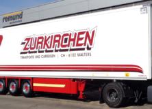 Zurkirchen - Beschriftung und Lackierung Auflieger