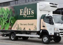 Beschriftung LKW_Eglis Küchenkräuter