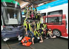 Remund AG - Beschriftung Tram