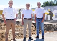Spatenstich Neubau Remund